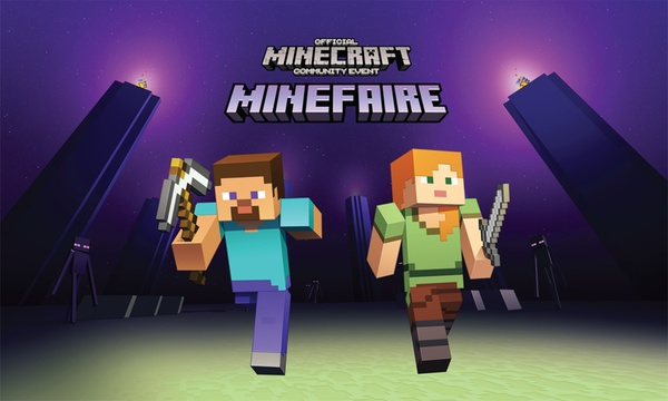 MINECRAFT Event: Minefaire on February 9-10, 2019 (Up to 30% Off)