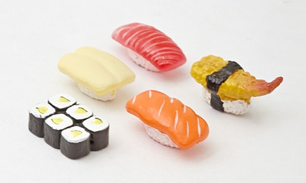 One, Two or Three Sets of Five DCI Sushi Magnets