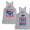 Americana Women's Relaxed-Fit Tanks