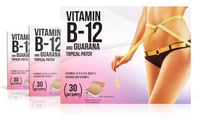 VitaPatch Vitamin B12 and Guarana Slimming Patches (1-, 2-, or 3-Pack)