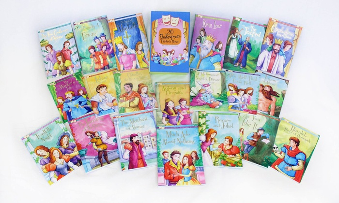 Groupon Goods: 20-Book Set of Shakespeare Children's Story (Shipping Included)