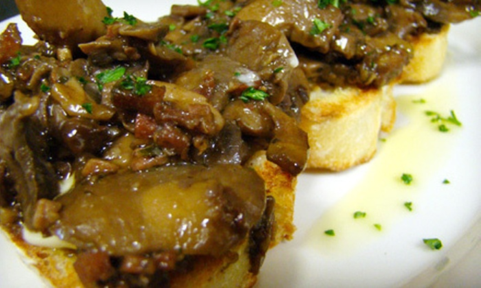 Pastas and Tapas - Duluth: $22 for Tapas for Two with Wine, Sangria, or Beer at Pastas (Up to $84 Value)