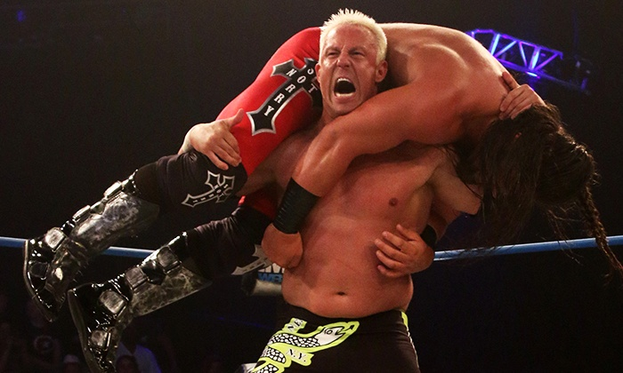 TNA Impact Wrestling - The Ed Fry Arena at the Kovalchick Complex: $40 for Two Tickets to TNA IMPACT Wrestling Event at the Kovalchick Complex on Friday, August 15 ($92.40 Value)