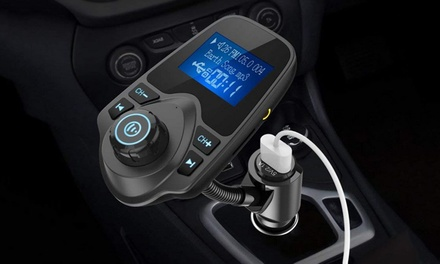 Bluetooth FM Wireless Transmitter Car Kit: One ($25) or Two ($45)