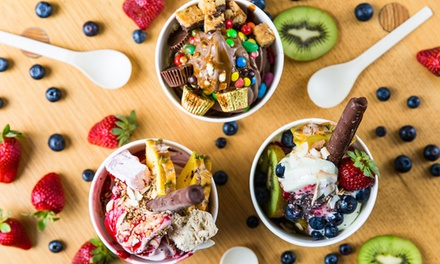 $6 for $10 to Spend on Frozen Yoghurt & Toppings at Frozen By A Thousand Blessings - South Yarra