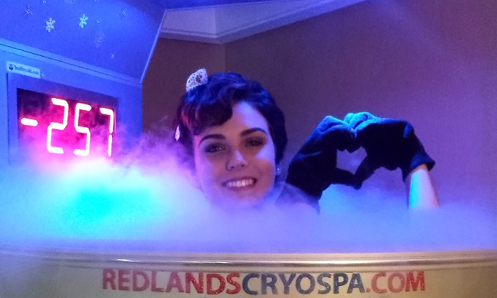 Redlands Cryo Spa - Northwest Redlands: One or Three Cryotherapy Sessions at Redlands Cryo Spa (Up to 41% Off)