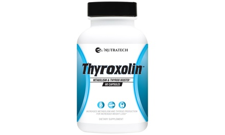 Nutratech Thyroxolin Thyroid and Metabolism Booster (60-Count)