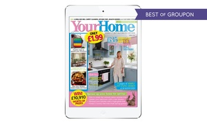 Your Home Magazine: One-Year Digital Subscription to Your Home Magazine (47% Off)