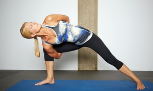Center For Yoga: Up to 78% Off 10 Classes or Month of Unlimited Membership at Center For Yoga