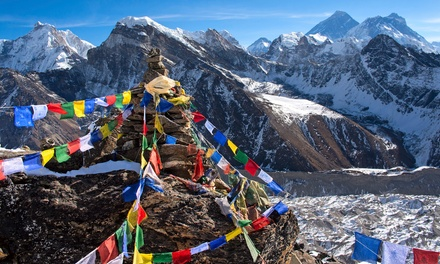 10-Day Hiking Tour of Nepal from Bohemian Tours. Price per Person Based on Double Occupancy (Buy 1 Groupon/Person)