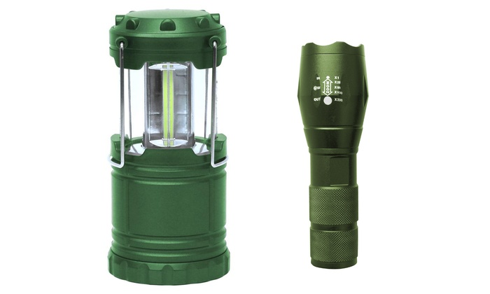 Flashlight and Lantern Bundle | Groupon Goods