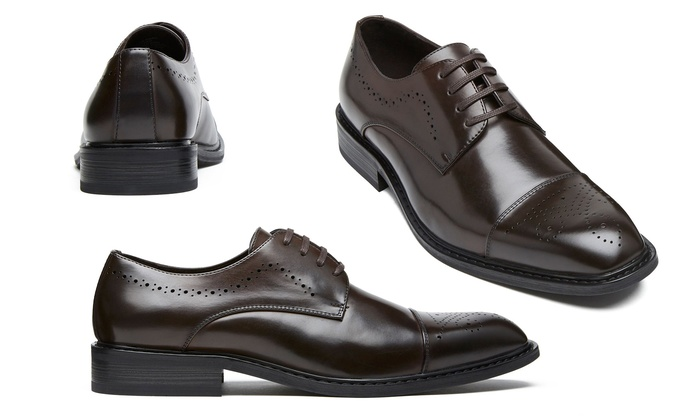 finest selection bd7ef ee7b5 Kenneth Cole Unlisted Brogue Cap-Toe Dress Shoes (Size 10)