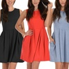 Lyss Loo Women's Skater Dress with Pockets