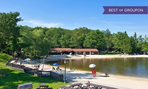 Poconos Hotel with Indoor Water Park at Split Rock Resort, plus 6.0% Cash Back from Ebates.