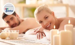 Theia Spa: Percorso benessere con biosauna, tecarterapia, bendaggio funzionale e massaggio alla Spa Theia (sconto fino a 43%)