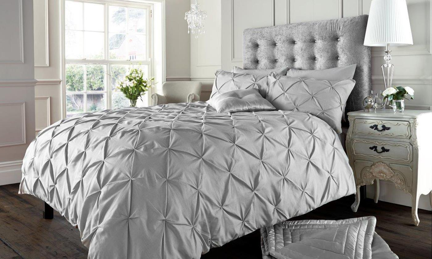 Alford Pintuck Duvet Cover Set