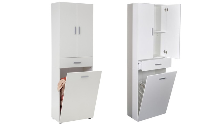 Sal Laundry Storage Cabinet Groupon Goods