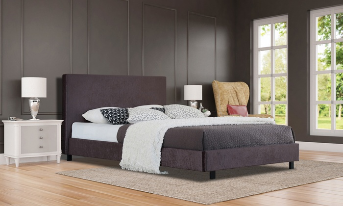 Florence Shimmer Bed with Optional Mattress