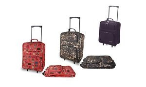 Cabin-Sized Folding Wheeled Bags