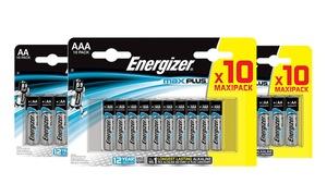 Piles AA - AAA energizer max plus