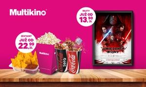 Multikino: Bilet na dowolny seans 2D ważny przez cały tydzień od 13,90 zł w sieci kin Multikino