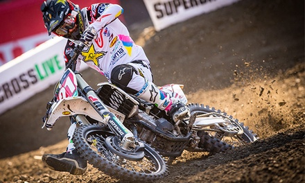 Monster Energy AMA Supercross on January 5 or 19 at 6:30 p.m.