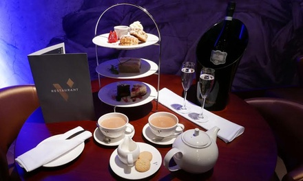 Sparkling Afternoon Tea for Two or Four at New Victoria Gate Casino (Up to 38% Off)