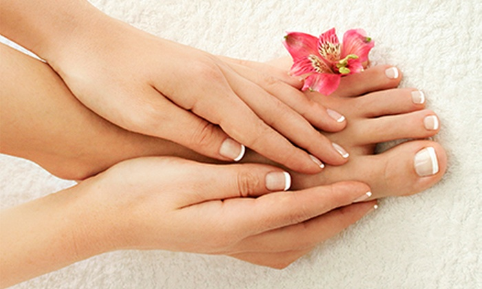 Majestic Nail Envy - Roseland: $30 for $60 Worth of Mani-Pedi at Majestic Nail Envy