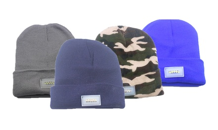 LED Knit Beanie: One $9.95 or Two $16.95