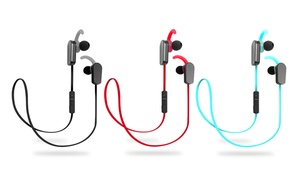 Jarv Nmotion Plus Sport Bluetooth 4.0 Stereo Earbuds With Built-in Mic