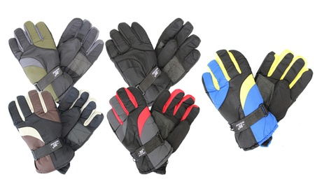 Men's Waterproof Winter Gloves (2 Pairs) 6251ed0f-6228-45ea-9a00-d17a04dd1186