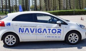 Ośrodek Szkolenia Kierowców Navigator: Kurs na prawo jazdy kat. B od 849 zł w OSK Navigator