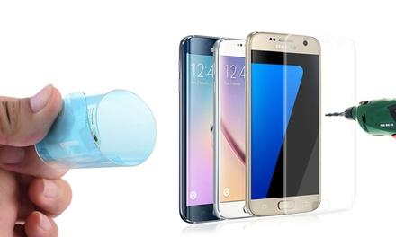1 o 2 protectores de pantalla nano glass para Samsung S6/S6 Edge/S7 y S7 Edge desde 2,99 €