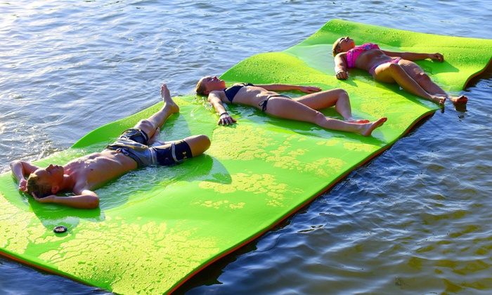 18 X6 Water Mat Float Groupon