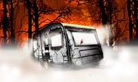 "90 Min. Live Escape Game ""Black Mountain Killer"" für bis zu 2, 3 oder 4 Personen bei Escape the Camper (bis 13% sparen*)"