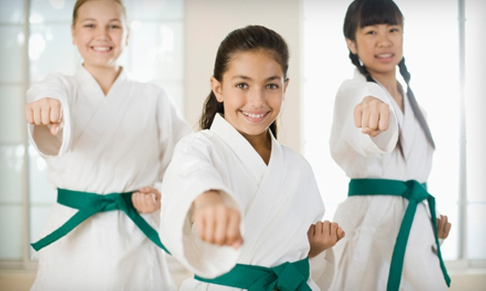 Jason Yi's Tae Kwon Do College - Multiple Locations: Ninja Birthday Party for Unlimited Guests or One-Week Summer Camp at Jason Yi's Tae Kwon Do College (Up to 73% Off)