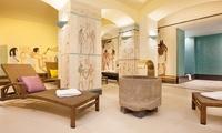 Sauna u. Dampfbad, opt. mit Massage, inkl. Bademantel u. Handtüchern im De Medici Movement Spa Club (bis zu 56% sparen*)
