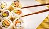 Honmachi Sushi & Teppanyaki Stone Oak - Stone Oak: Sushi and Teppanyaki Cuisine for Lunch or Dinner or Teppanyaki Dinner for Two at Hon Machi Sushi & Teppanyaki (Half Off)