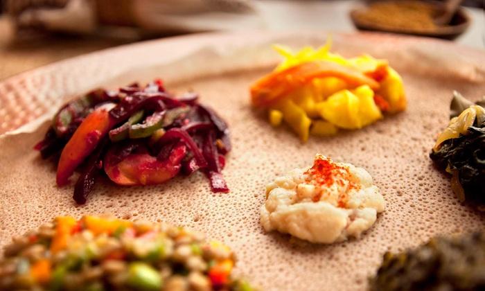 Habesha Restaurant - Woodside: $20 for 2 Groupons, Each Valid for $20 Worth of Ethiopian Cuisine for 2 or More at Habesha Restaurant