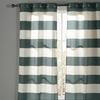 "Cabana-Stripe Cotton Extra Long 104""x96"" or 76""x96"" Grommet Panel Pair"