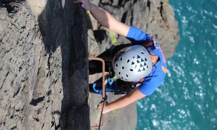 Bautismo de escalada, Actividad multiaventura o rápel para 2 o 4 desde 29,90 € en Aventura en Canarias
