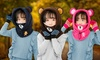 Kids Hooded Bear Snood