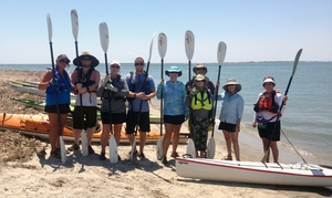Burnham Guides: Full-Day Guided Kayak Tour with Beach Lunch for One or Two from Burnham Guides (Up to 50% Off)
