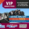 Locals Only Special: Unlimited Entry to 4 Theme Parks