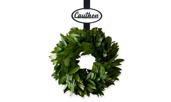 Up To 50 Off Personalized Wreath Hangers From Metal Unlimited