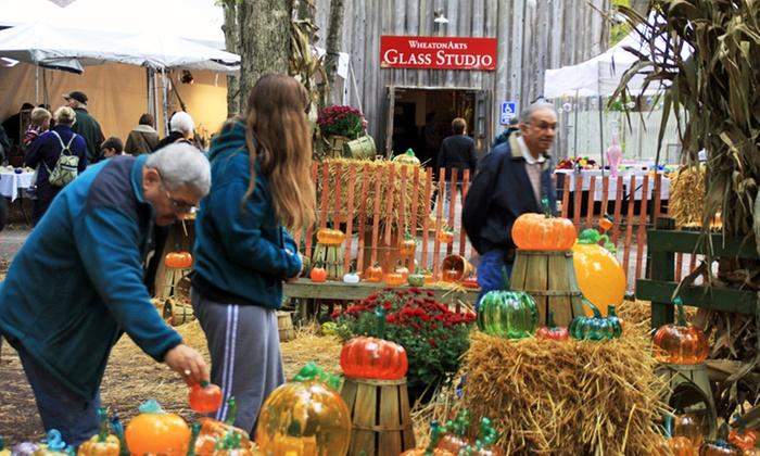 Festival of Fine Craft - WheatonArts and Cultural Center: Visit to Festival of Fine Craft for Two, Four, or Six at WheatonArts and Cultural Center on October 4–5 (50% Off)