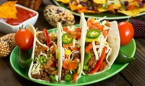 La Bella Pollastrella: Menu messicano con antipasto, fajitas di pollo o di pesce con tortillas e birra
