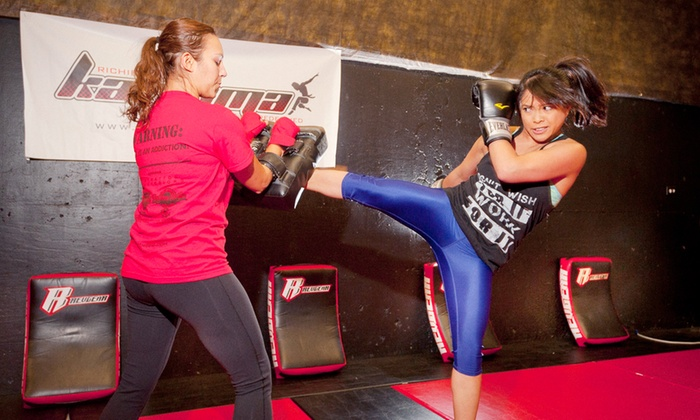 Richie Lee's Karisma Fitness - Maxwell: 5, 10, or 20 Cardio Kickboxing Classes at Richie Lee's Karisma Fitness (Up to 62% Off)