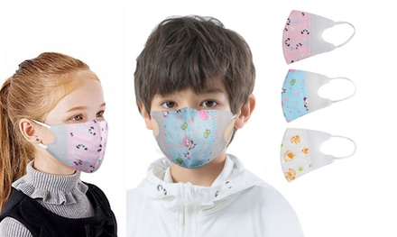 Three-Ply Child Face Masks