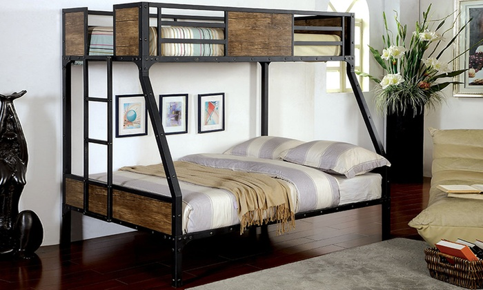 Furniture Of America Bunk Bed Groupon Goods